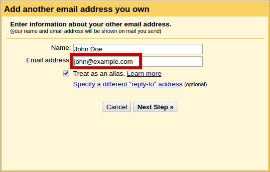 Custom Domain E-mails With Postfix and Gmail: The Missing